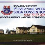 2019 SOBA America Convention